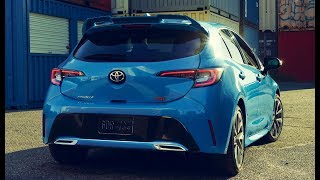 2019 Toyota Corolla Hatchback XSE Interior, Exterior and Drive