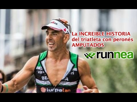 La increíble historia de Berna Angulo, el triatleta sin peronés (video motivacional español)