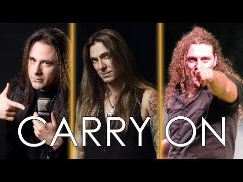 Angra - CARRY ON | Andre Matos, Edu Falaschi & Fabio Lione (comparison)