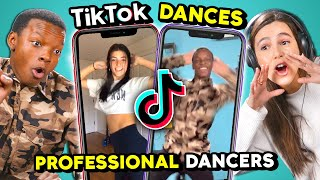Professional Dancers React To And Try TikTok Dances (Renegade, I Been Tik Tokin', Vibez)