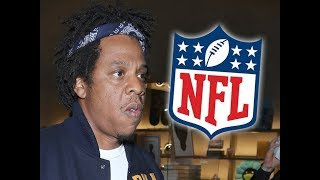 NFL partners with Roc Nation to advise om music & social activism #jayz #rocnation #NFL #tmz