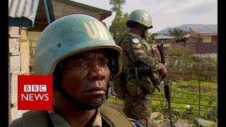 Congo: UN peacekeepers patrol - BBC News