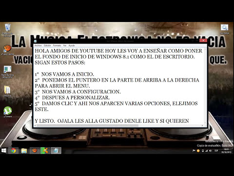CAMBIAR FONDO DE INICIO DE WINDOWS 8.1 PERFECTAMENTE EXPLICADO