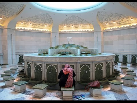 Туалет в Мечети Шейха Зайда. Abu Dhabi, Emirates.  Toilet in Sheikh Zayd's Mosque.