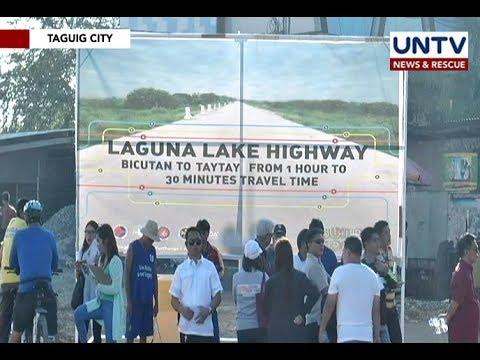 Opening of Laguna Lake Highway will help decongest traffic in EDSA – Sec. Villar