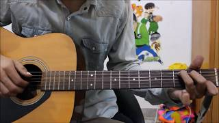 2 Best Romantic songs Hindi - Guitar cover lesson chords beginners easy