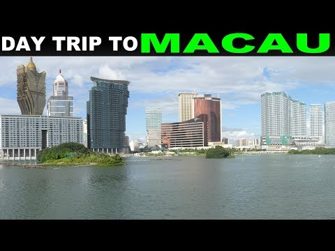 A Tourist's Guide to Macau, China