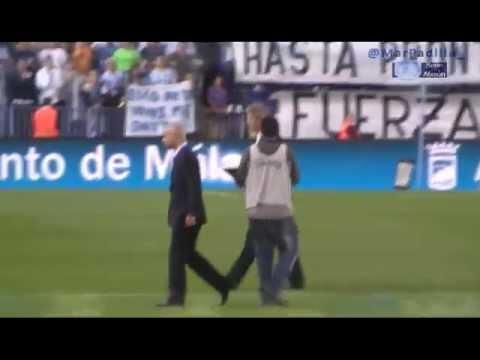 Homenaje Manuel Pellegrini y despedida Isco