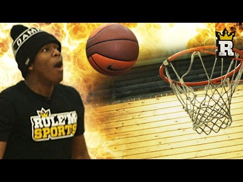 KSI's Basketball Training: Shooting | Rule'm Sports
