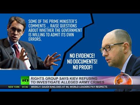 HRW 'cuts through lies of war' in Ukraine: Sides violate Geneva conventions – organization chief