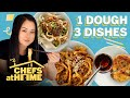 Hand-Pulled Noodles From Scratch (Plus 3 Sauces) | Chefs At Home | Food & Wine