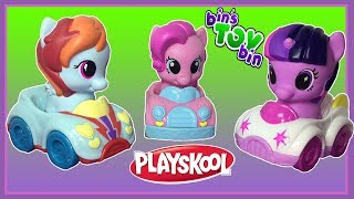 Princess Twilight Sparkle, Rainbow Dash & Pinkie Pie   My Little Pony Playskool Cars