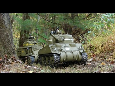 1/6th Scale RC Armortek M4A4 Sherman Tank Project Video #16 (Model Complete)