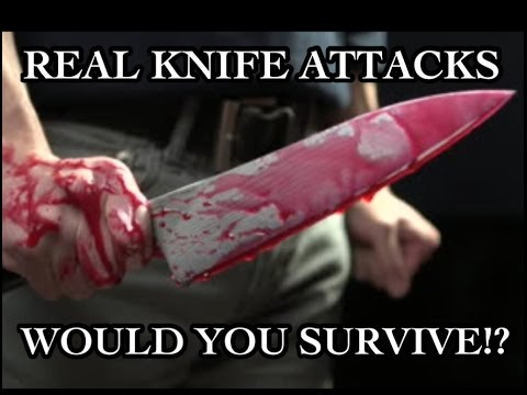 The BEST Knife Defense! What YOU need to Survive a REAL Attack! Image 1