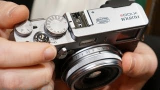 Fujifilm X100s Hands On | Engadget At CES 2013