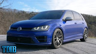 Modified MK7 Volkswagen Golf R Review! The Overlooked Baby Audi Hot Hatch?
