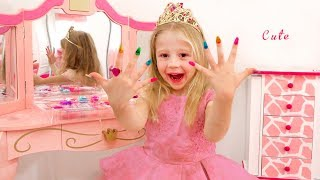 Nastay pretend play with dress up and make up toys