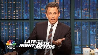 Seth Addresses the Terror Attack in New York City