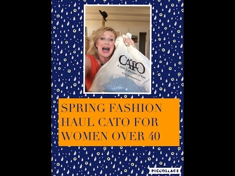 Spring Fashion Haul Cato Women Over 40 Look Book