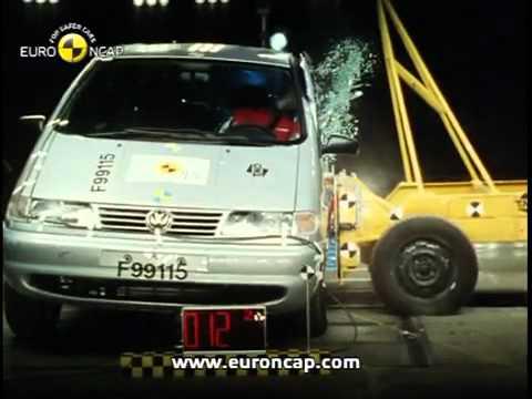 Краш тест Volkswagen Sharan 1999 (E-NCAP)