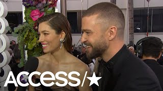 Download Lagu Justin Timberlake & Jessica Biel On The Success Of 'The Sinner' & What's New With Baby Silas Gratis STAFABAND