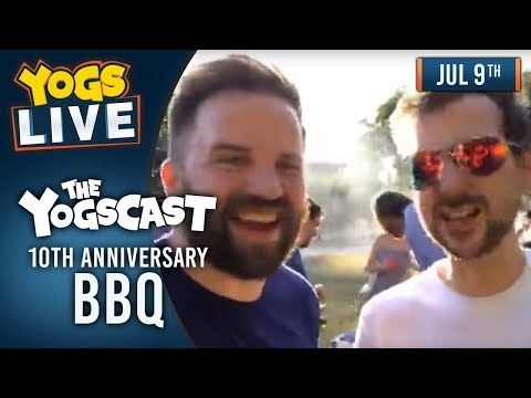 10th Anniversary BBQ Part 1! - 9th July 2018