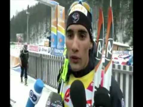 Toutleski.tv - Biathlon WM Ruhpolding interveiw Fourcade Martin & Simon, Brunet