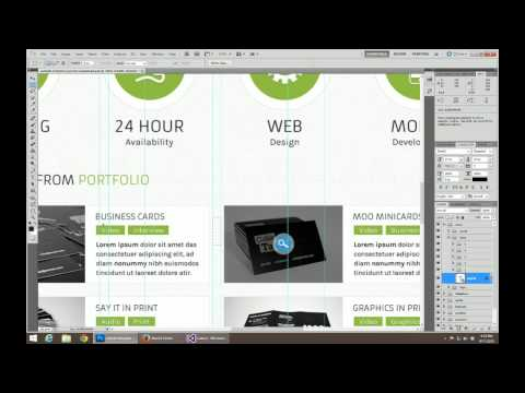 PSD to HTML Part 1 Content to HTML