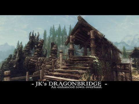 TES V - Skyrim Mods: JK's Dragonbridge