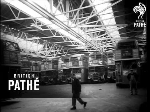 London Bus Strikes (1954)