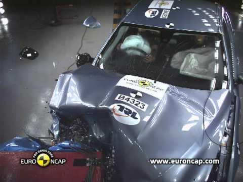 Euro NCAP | Jaguar XF | 2011 | Краш-тест