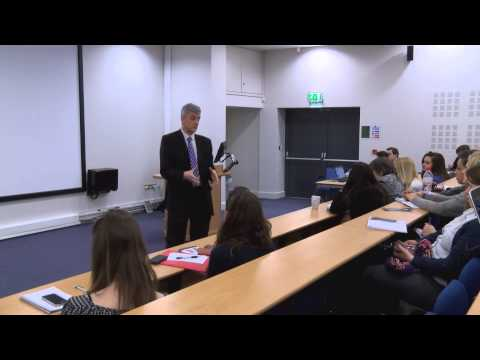 Jeremy Armstrong at Leeds Trinity University Journalism week 2015