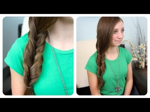 2-Minute Faux Fishtail Braid | Cute Girls Hairstyles