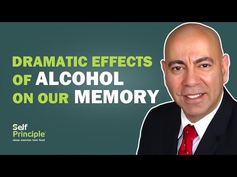 How does drinking alcohol affect memory?