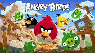 Птички Энгри Бердс| Злые Птички Мультик | прохождение игра про птичек Энгри Бердс видео для детей