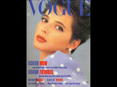 Tema revista Vogue Mexico 80´s (One more time - David Rose)