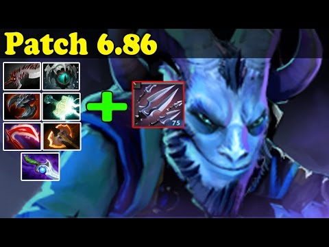 Dota 2 - Patch 6.86 - Testing The Riki's Ultimate Witch Some Items!