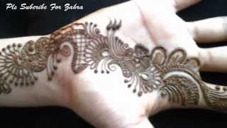 Latest Mehandi Design Front Hand 2015 Video