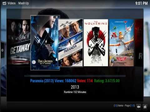 How to Install Mashup  XBMC