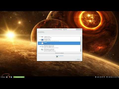 Install Applets - Linux CINNAMON