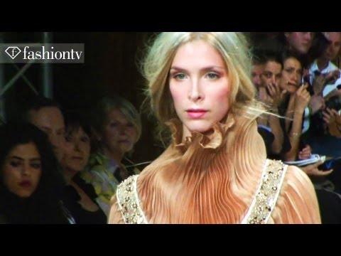 Claudine Ivari Runway Show - Paris Fashion Week Spring 2012 Pfw | Fashiontv - Ftv video