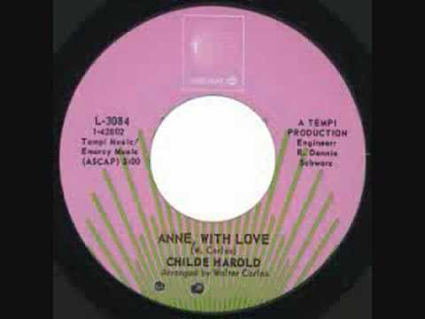 childe harold - Anne With Love