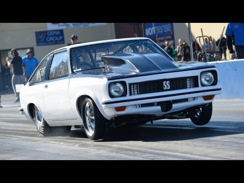 LOUD F3R blown V8 Holden Torana