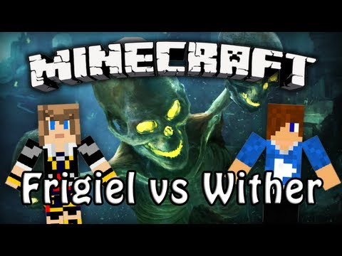 Minecraft 1.4 : Frigiel & Siphano vs Wither Boss | FriFreestyle
