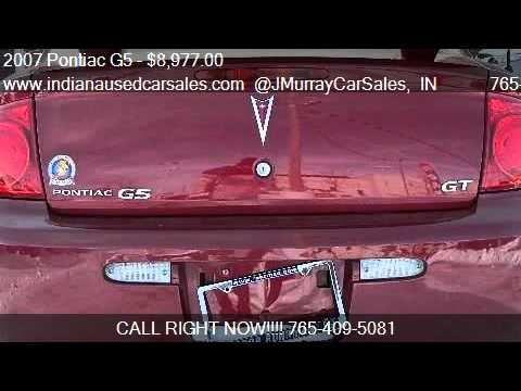 2007 Pontiac G5 GT Coupe 2D for sale in LAFAYETTE, IN 47905