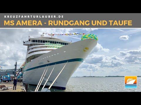 MS Amera - Erster Rundgang und Taufe - PHOENIX Reisen