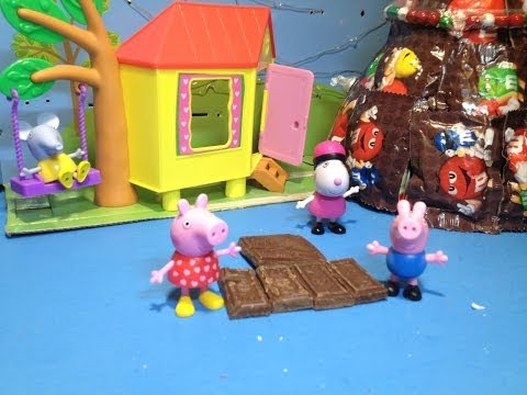 Nickelodeon Peppa Pig and Friends Jumping in Chocolate Mud Puddles