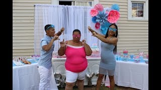 THE BEST GENDER REVEAL PARTY!