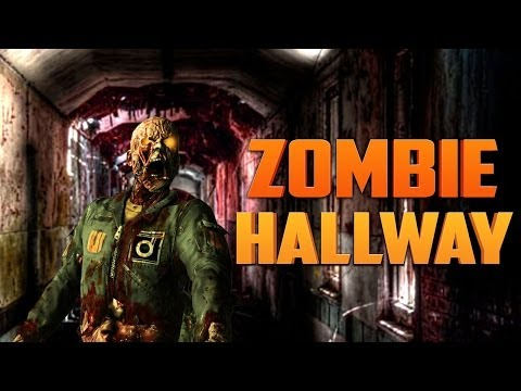ZOMBIE HALLWAY ★ Call of Duty Zombies