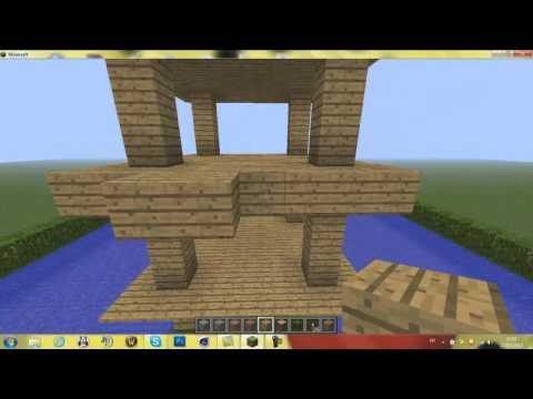 Maison minecraft en bois d coration tuto youtube - Maison minecraft en bois ...